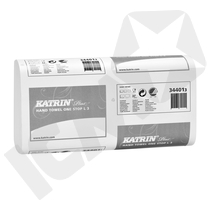 Katrin Håndklædeark Plus L3 344010, 21x90 ark