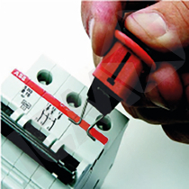 Mini circuit breaker pin-out (standard)