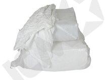 Hvide blandede klude, 10 kg
