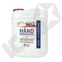Hånddesinfektion, 5 l, dunk