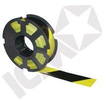 Afspærringsbånd gul/sort