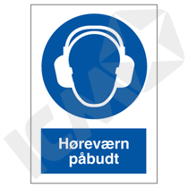 P204 V Høreværn påbudt A5