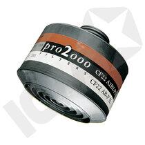 A2B2-P3 kombifilter 40mm
