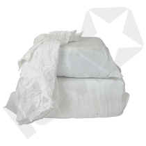Hvid bomuldslinned 1 (topkvalitet), 10 kg