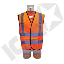 Trafikvest EN 20471 kl. 2, orange