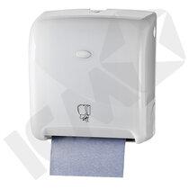 Dispenser t/håndklæderulle, Euromotion, hvid