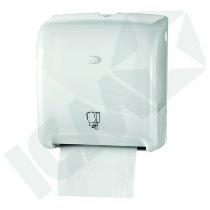 Dispenser t/håndklæderulle, Automatic, hvid