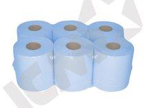 Midi håndklæderulle 1-lags Blå, 20 cm x 300 m