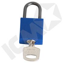 Lockout lås alu/nylon 25mm