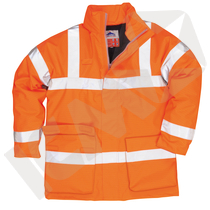 Vinterjakke antiflame EN 20471, orange