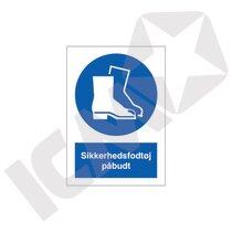 P219PA4 Sikkerhedsfodtøj påbudt  A4