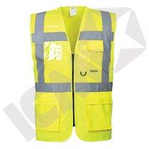 Executive vest EN 20471 kl. 2, gul