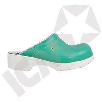 BlueStar SafetyStep 50 Tøffel Grøn