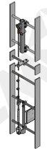 ICM Vertical Wirestyr til Alustige Lige