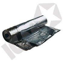 Affaldssæk Sort 70 x 110 cm 43 my