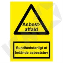 A311VA4 Asbestaffald  A4
