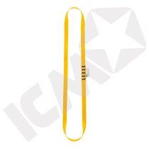 Anneau sling, 60 cm, 22 kN, gul