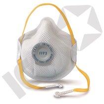 Moldex 2505 FFP3D Maske med Ventil 10 stk