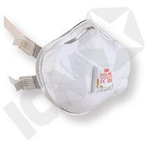 3M 8835 FFP3D Maske med Ventil