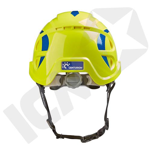 Centurion Nexus SecurePlus Hjelm med Håndhjul & Ventilation Hi-Viz